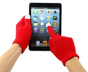 Magic Stretch Touch Screen Friendly Full Finger Gloves Free Shipping