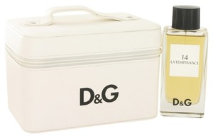 Dolce&Gabbana Dolce & Gabbana 14 LA TEMPERANCE POUR FEMME Womens Perfume GIFT SET 3.3 oz 100 ml Eau De Toilette Spray + Travel/Makeup Bag