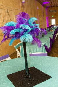 117 Inch Round Teal Crinkle Tablecloth - 7 Available