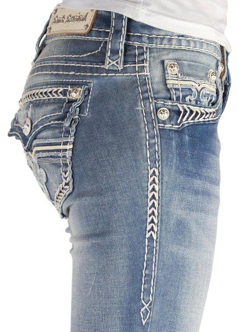 Item - Blue Light Wash New with Tags and Defect Monica Slim Stretch X 32 Boot Cut Jeans Size 30 (6, M)