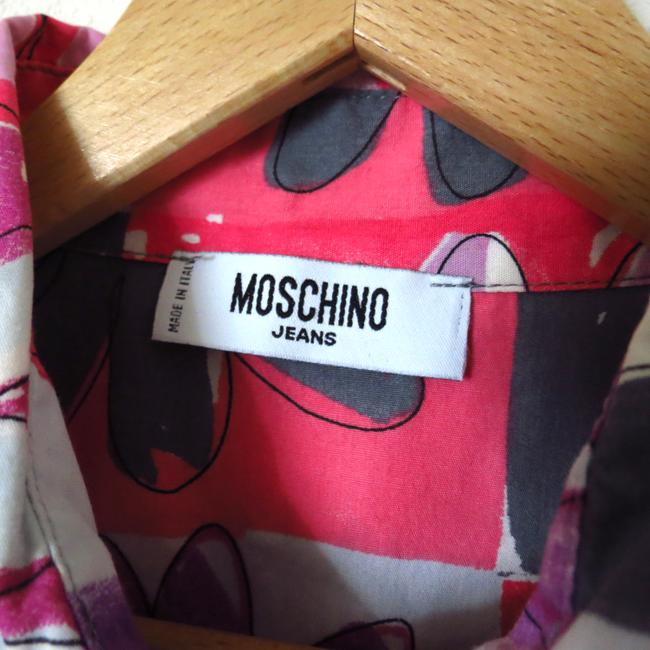 Moschino Button Down Shirt Pink