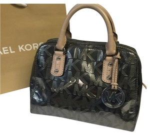 Michael Kors Satchel in Gunmetal Gray