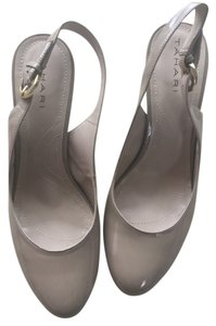 Tahari Sling Back Taupe Pumps