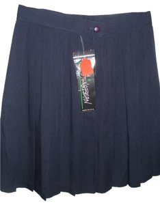 Stringbean Short Pleated Golf Retro Stylish Mini Skirt Blue