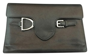 Ralph Lauren Collection Ralph Lauren Collection Wallet BLACK with Equestrian Details