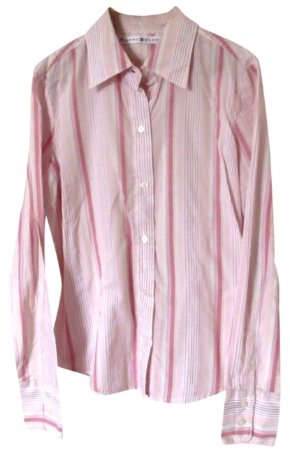 Preload https://img-static.tradesy.com/item/1157700/tommy-hilfiger-pink-button-down-top-size-2-xs-0-0-650-650.jpg