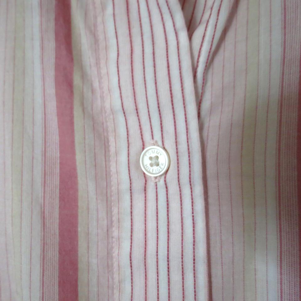 66d7f433 Tommy Hilfiger Pink XS Button-down Top Size 2 (XS) - Tradesy