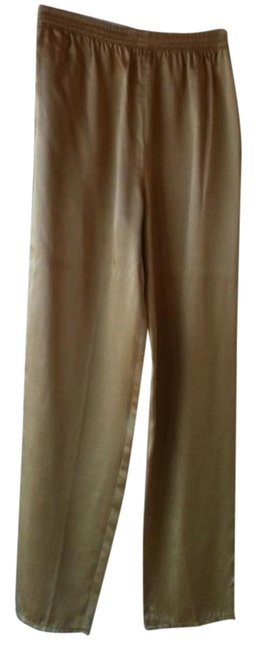Anne Klein Relaxed Pants Gold