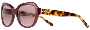 Tory Burch Red Geo Cat-eye