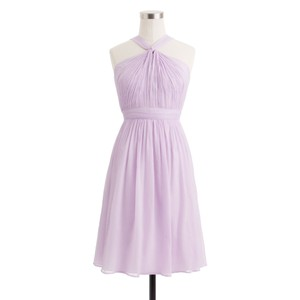 J.Crew Dried Lavender Sinclair Dress - 49388 Dress