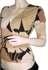 BCBGMAXAZRIA Top brown, black