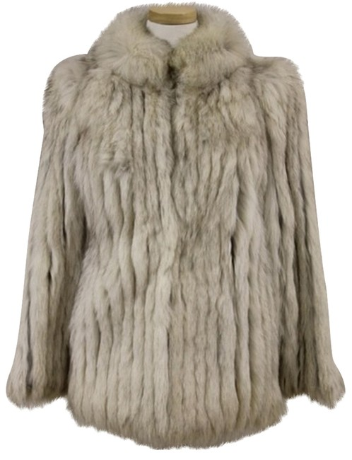 Saga Furs Jacket Fox Real Fur Coat