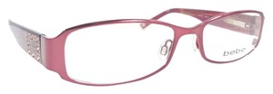 f0728fd8def bebe BEBE AMAZED BB5013 Eyeglasses Color Ruby ~ Size 51 mm