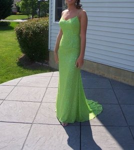 Alfred Angelo Green 24766 Dress