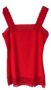 Halogen Lace Size S Top Red
