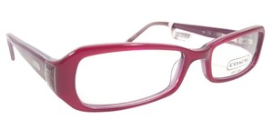 Coach COACH KITTY 2016 Eyeglasses Color 610 Cranberry ~ Size 48 mm