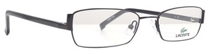Lacoste LACOSTE L2101 Eyeglasses Color 001 Satin Black ~ Size 51 mm
