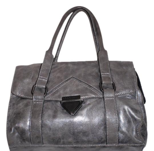BCBGeneration Hand Purse Shoulder Tote Satchel in gray