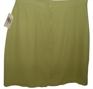 Vintage 70s Lime Cool Hip Hot Sexy Mini Skirt green