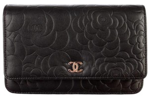 5c7ca94dbda1 Chanel Clutch Classic Flap Wallet On A Chain Woc Camellia Quilted ...
