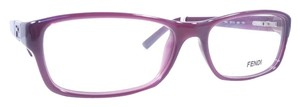 Fendi FENDI F961 Eyeglasses Color 505 Plum ~ Size 53 mm
