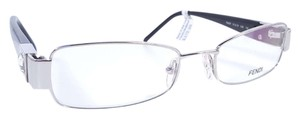 Fendi FENDI F895R Eyeglasses Color 028 Silver ~ Size 51 mm