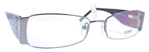 Fendi FENDI F923R Eyeglasses Color 35 Gunmetal ~ Size 50 mm