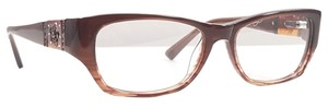 Ed Hardy ED HARDY EHO 750 Eyeglasses Color Brown ~ Size 52 mm