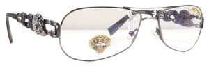 Ed Hardy ED HARDY EHO 705 Eyeglasses Color Pewter ~ Size 57 mm
