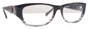 Ed Hardy ED HARDY EHO 750 Eyeglasses Color Grey ~ Size 52 mm