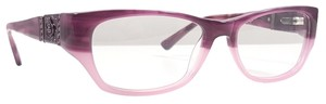 Ed Hardy ED HARDY EHO 750 Eyeglasses Color Purple ~ Size 52 mm