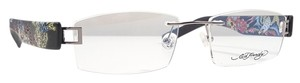 Ed Hardy ED HARDY EHL 804 Eyeglasses Color Gunmetal ~ Size 51 mm