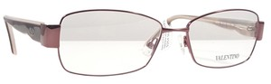 Valentino VALENTINO V2101 Eyeglasses Color 210 Brown Tortoise ~ Size 52 mm