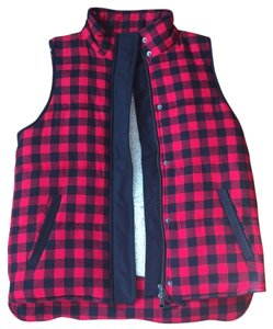 Madewell Warm Cozy Plaid Lumberjack Vest