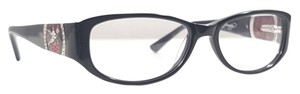 Ed Hardy ED HARDY EHO 748 Eyeglasses Color Black ~ Size 53 mm