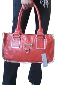 Roberta Patent Leather Shoulder Bag