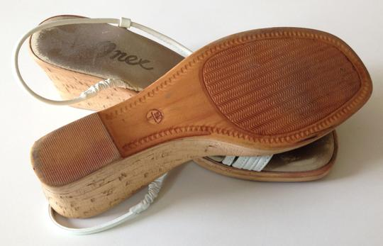 Onec Leather White Sandals