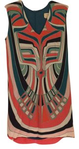 Nicole Miller short dress Multicolor on Tradesy