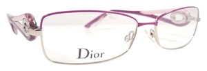 Dior CHRISTIAN DIOR CD3754 Eyeglasses Color 0O71 Cyclamen Gold ~ Size 55mm