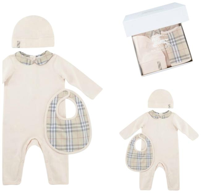 Preload https://img-static.tradesy.com/item/11580586/burberry-baby-girl-set-jumpsuit-hat-and-bib-18-months-pant-suit-size-os-one-size-0-1-650-650.jpg