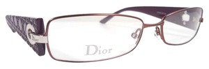 Dior CHRISTIAN DIOR CD3736 Eyeglasses Color EJ9 Rust Plum ~ Size 55mm