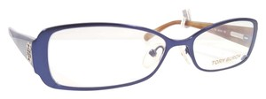 Tory Burch TORY BURCH TY1004 Eyeglasses Color 122 Navy ~ Size 52 mm