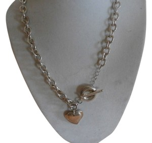 Other NEW STERLING SILVER PLATED HEART NECKLACE