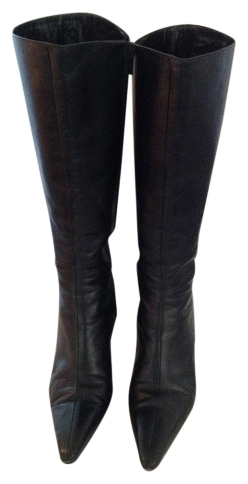 MISS Boots/Booties Lambertson Truex Black Leather Boots/Booties MISS Won highly esteemed and widely trusted at home and abroad c73ef7
