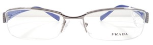 Prada PRADA PR 53NV Eyeglasses Color DAK1O1 Gunmetal ~ Size 53 mm
