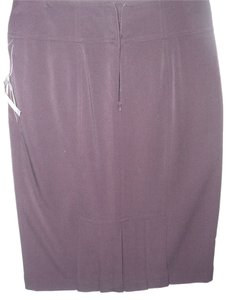 Grace Elements Eggplant Ladylike Feminine Retro Skirt purple
