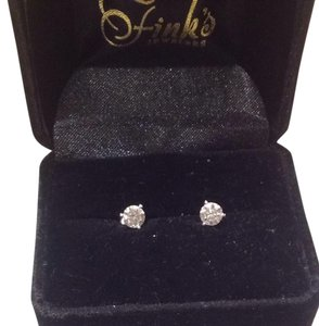 Diamond Earrings - 1.09 total karat w/ Appraisal!