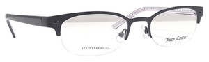 Juicy Couture JUICY COUTURE JU108 Eyeglasses Color 0003 Satin Black ~ Size 49 mm