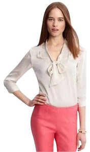 Banana Republic Top Cream