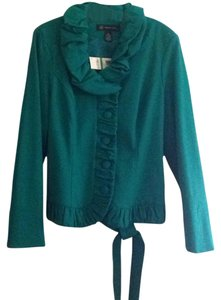 INC International Concepts Mosaic turquoise green Blazer